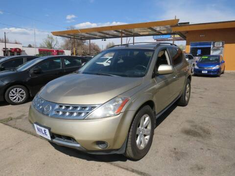 2006 Nissan Murano for sale at Nile Auto Sales in Denver CO