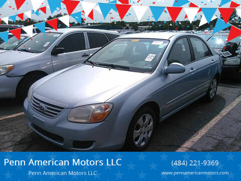2007 Kia Spectra for sale at Penn American Motors LLC in Allentown PA