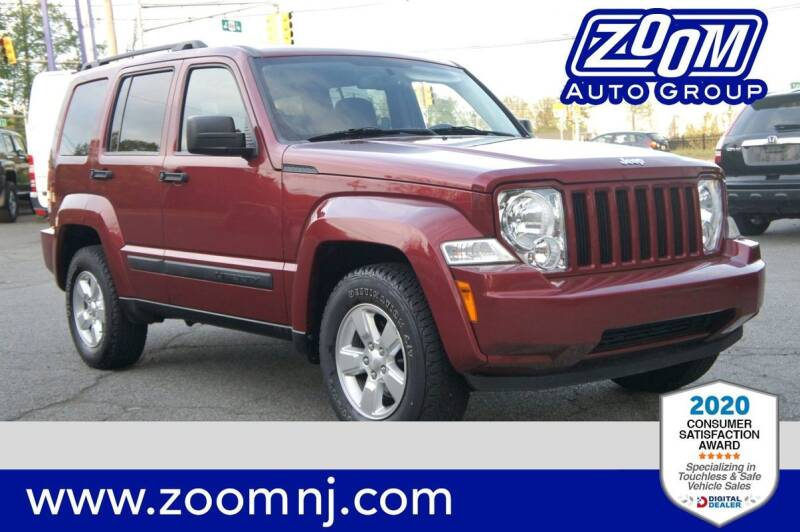 2012 Jeep Liberty for sale at Zoom Auto Group in Parsippany NJ