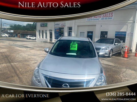 2016 Nissan Versa for sale at Nile Auto Sales in Greensboro NC