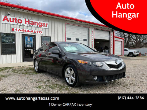 2010 Acura TSX for sale at Auto Hangar in Azle TX