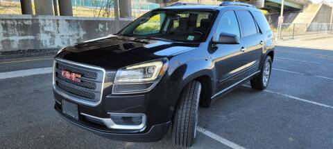 2015 GMC Acadia for sale at Giordano Auto Sales in Hasbrouck Heights NJ