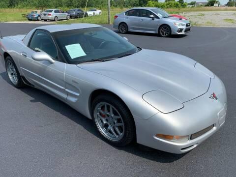 2002 Chevrolet Corvette for sale at Hillside Motors in Jamestown KY