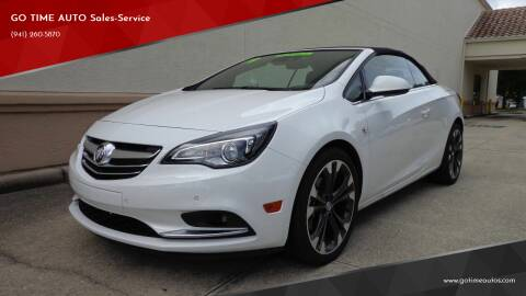 2019 Buick Cascada for sale at Go Time Automotive in Sarasota FL