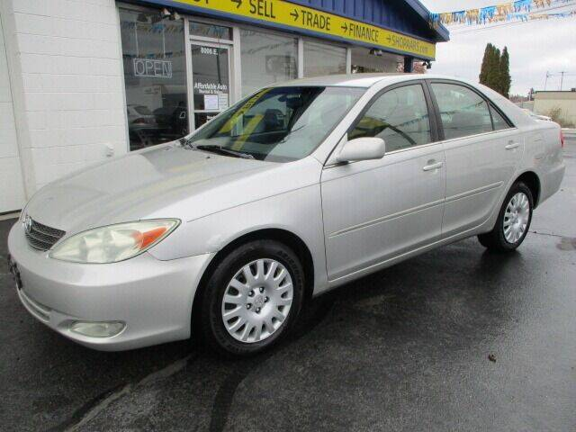 2003 Toyota Camry for sale at Affordable Auto Rental & Sales in Spokane Valley WA