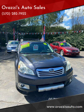 2011 Subaru Outback for sale at Orazzi's Auto Sales in Greenfield Township PA