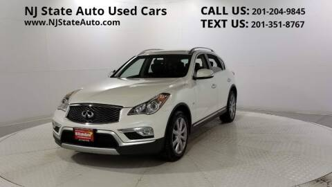 2016 Infiniti QX50 for sale at NJ State Auto Auction in Jersey City NJ