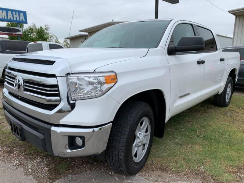 2017 Toyota Tundra for sale at Lumpy's Auto Sales in Oklahoma City OK