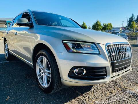 2015 Audi Q5 for sale at House of Hybrids in Burien WA