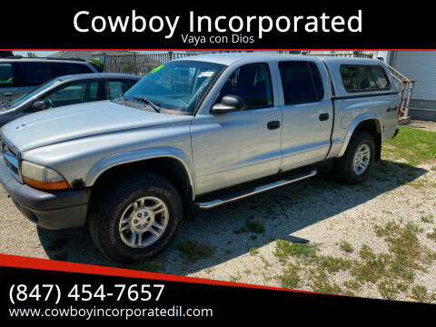 2004 Dodge Dakota for sale at Cowboy Incorporated in Waukegan IL