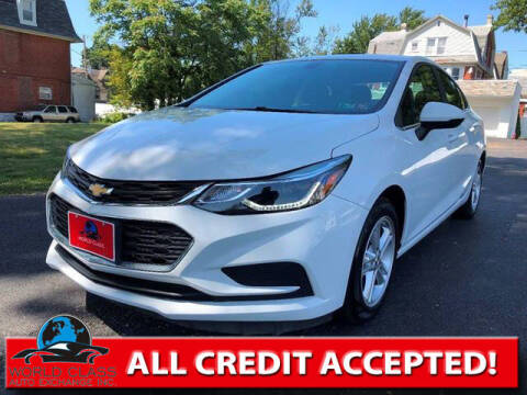 2017 Chevrolet Cruze for sale at World Class Auto Exchange in Lansdowne PA