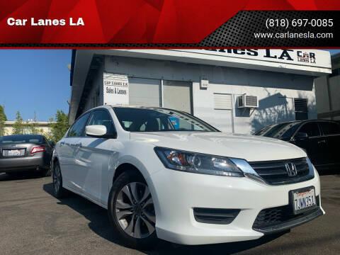 2015 Honda Accord for sale at Car Lanes LA in Valley Village CA