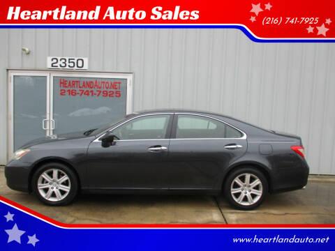 2007 Lexus ES 350 for sale at Heartland Auto Sales in Medina OH
