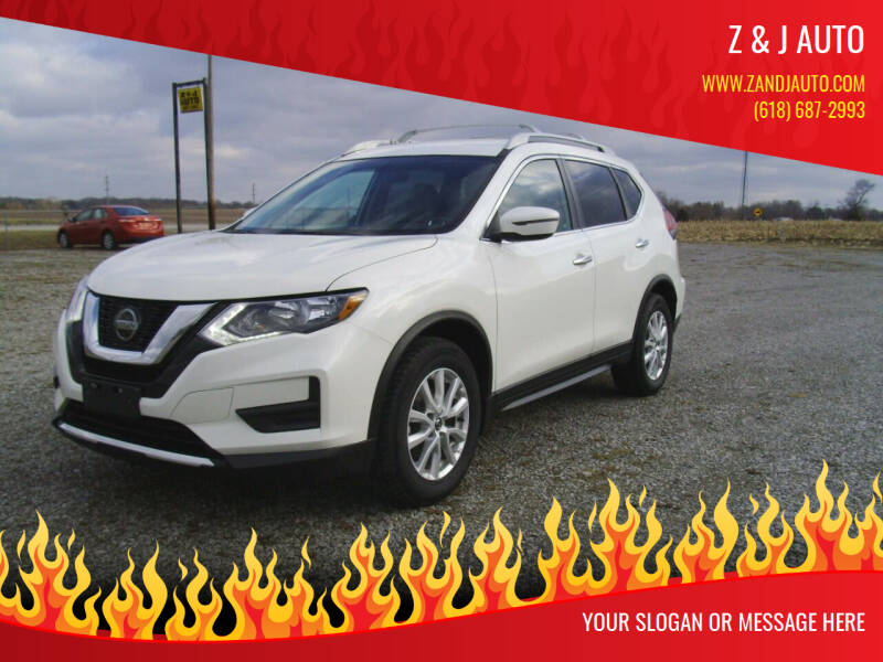 2018 Nissan Rogue for sale at Z & J Auto in Murphysboro IL