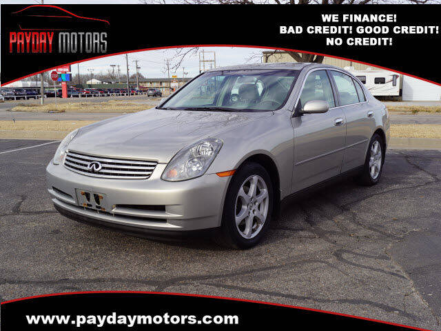 2004 Infiniti G35 for sale at Payday Motors in Wichita And Topeka KS