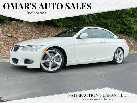 2012 BMW 3 Series for sale at Omar's Auto Sales in Martinez GA