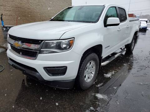 2017 Chevrolet Colorado for sale at MIDWEST CAR SEARCH in Fridley MN