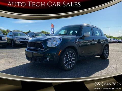 2012 MINI Cooper Countryman for sale at Auto Tech Car Sales in Saint Paul MN