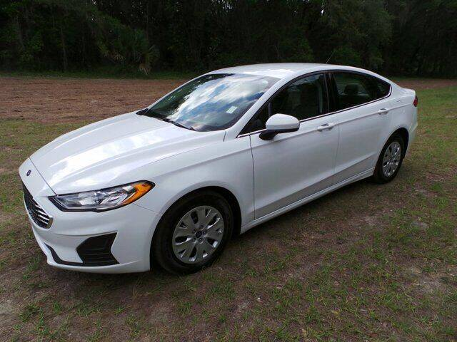 2019 Ford Fusion for sale at TIMBERLAND FORD in Perry FL