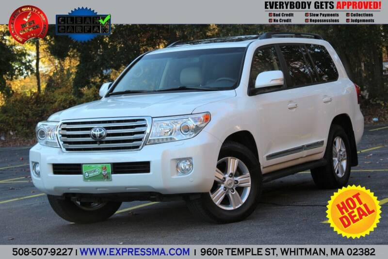 2013 Toyota Land Cruiser for sale at Auto Sales Express in Whitman MA