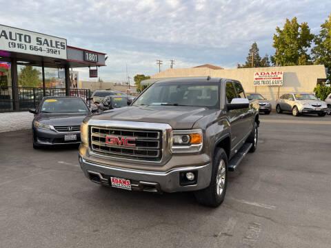 2014 GMC Sierra 1500 for sale at Adams Auto Sales in Sacramento CA