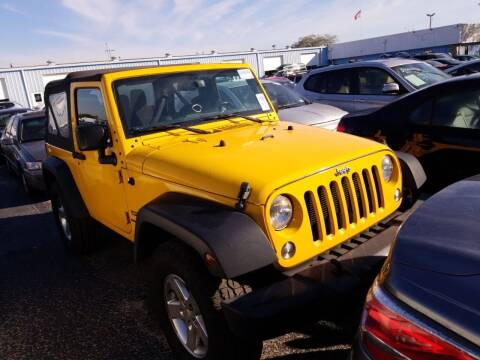 2015 Jeep Wrangler for sale at LUXURY IMPORTS AUTO SALES INC in North Branch MN