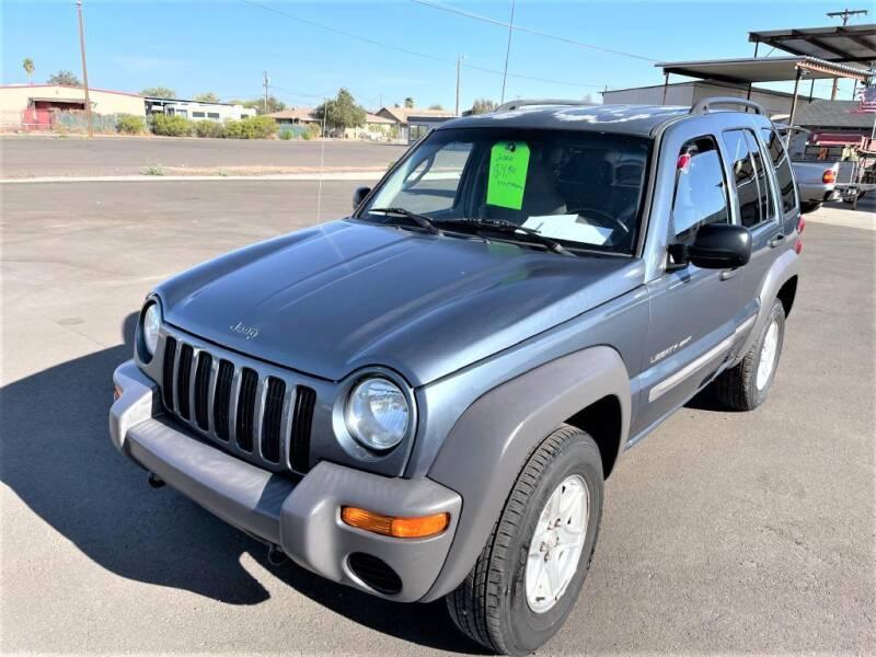 2002 Jeep Liberty for sale at Mesa AZ Auto Sales in Apache Junction AZ
