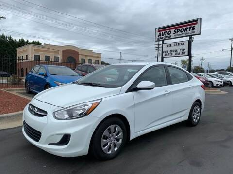 2016 Hyundai Accent for sale at Auto Sports in Hickory NC