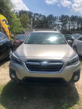 2018 Subaru Outback for sale at Gralin Hampton Auto Sales in Summerville SC