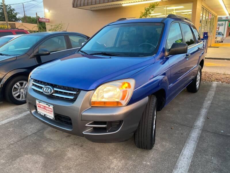 2006 Kia Sportage for sale at Houston Auto Gallery in Katy TX