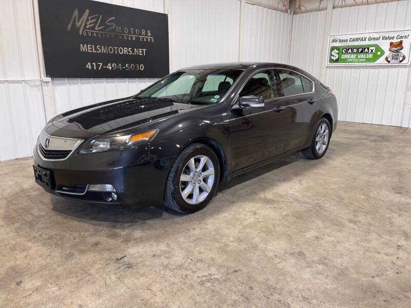 2012 Acura TL for sale at Mel's Motors in Nixa MO