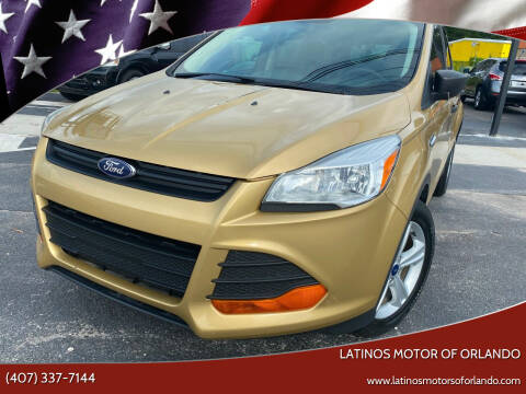 2014 Ford Escape for sale at LATINOS MOTOR OF ORLANDO in Orlando FL
