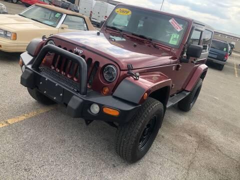 2009 Jeep Wrangler for sale at Bizzarro's Championship Auto Row in Erie PA
