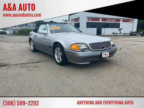 1992 Mercedes-Benz 300-Class for sale at A&A AUTO in Fairhaven MA