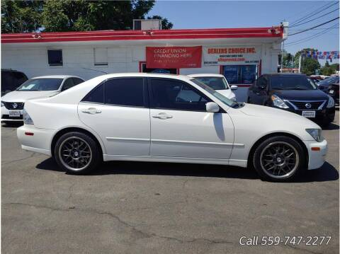 2001 Lexus IS 300 for sale at Dealers Choice Inc in Farmersville CA