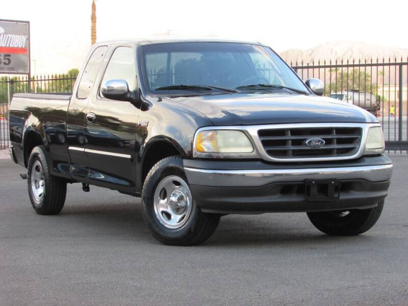 2002 Ford F-150 for sale at Best Auto Buy in Las Vegas NV