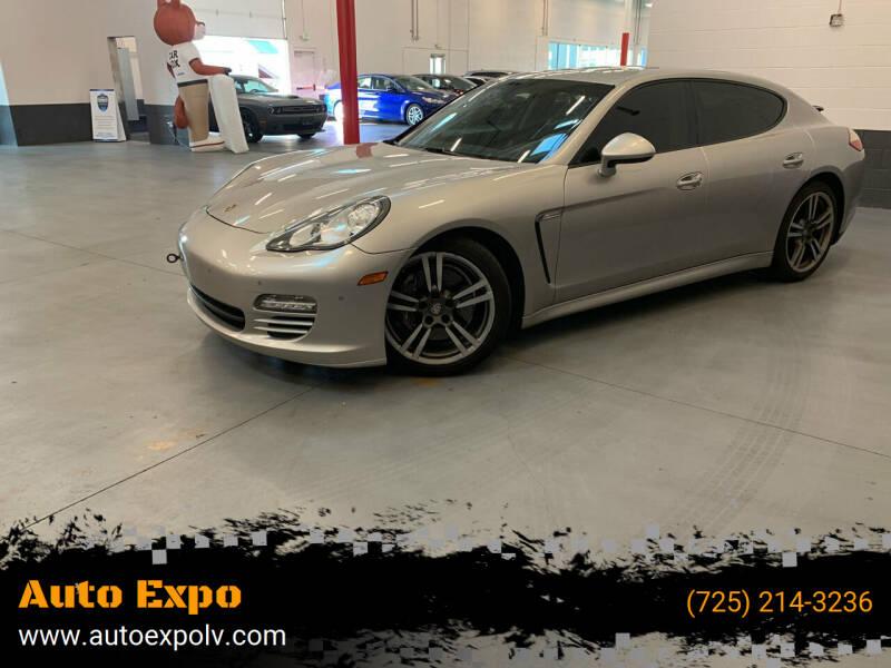 2012 Porsche Panamera for sale at Auto Expo in Las Vegas NV