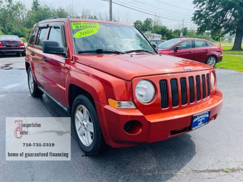 2008 Jeep Patriot for sale at Transportation Center Of Western New York in Niagara Falls NY