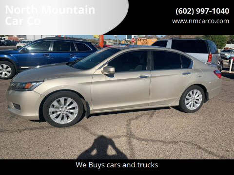 2015 Honda Accord for sale at North Mountain Car Co in Phoenix AZ