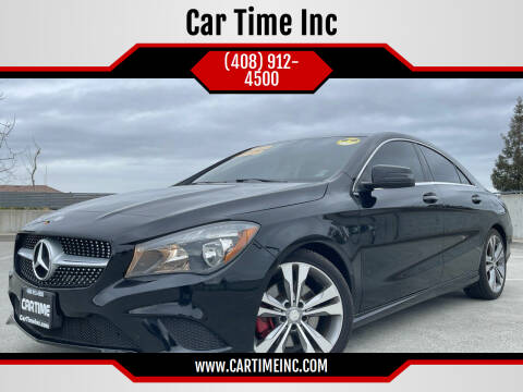 2015 Mercedes-Benz CLA for sale at Car Time Inc in San Jose CA