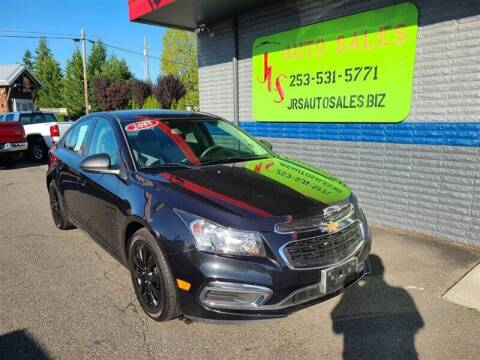 2015 Chevrolet Cruze for sale at Vehicle Simple @ JRS Auto Sales in Parkland WA