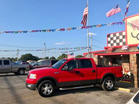 2005 Ford F-150 for sale at Watson Motors in Poteau OK