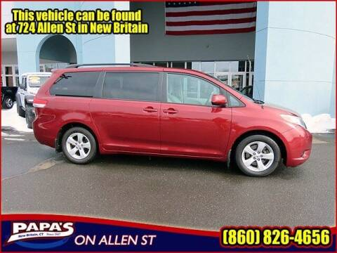 2013 Toyota Sienna for sale at Papas Chrysler Dodge Jeep Ram in New Britain CT
