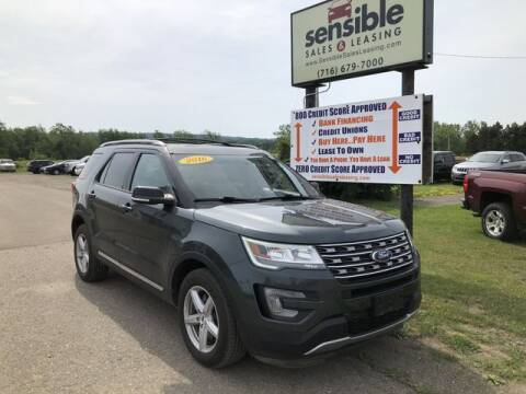 2016 Ford Explorer for sale at Sensible Sales & Leasing in Fredonia NY