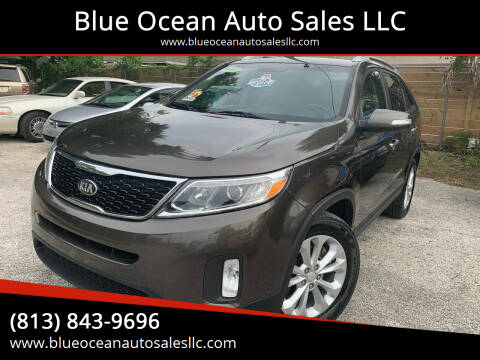 2014 Kia Sorento for sale at Blue Ocean Auto Sales LLC in Tampa FL