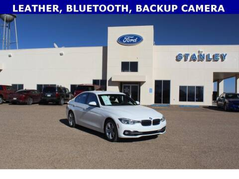 2018 BMW 3 Series for sale at STANLEY FORD ANDREWS in Andrews TX