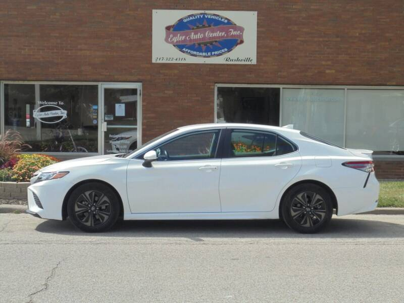 2019 Toyota Camry for sale at Eyler Auto Center Inc. in Rushville IL