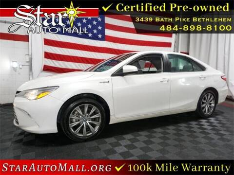 2016 Toyota Camry Hybrid for sale at STAR AUTO MALL 512 in Bethlehem PA