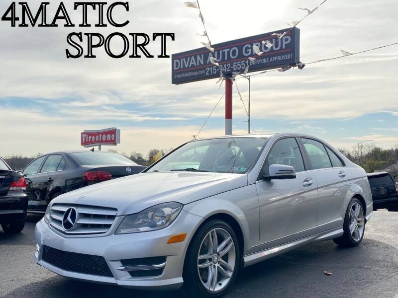 2013 Mercedes-Benz C-Class for sale at Divan Auto Group in Feasterville PA