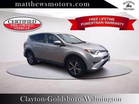 2018 Toyota RAV4 for sale at Auto Finance of Raleigh in Raleigh NC